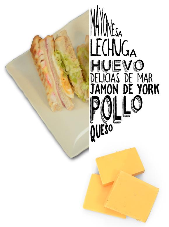 Sandwich de Pollo Ratito Vejer